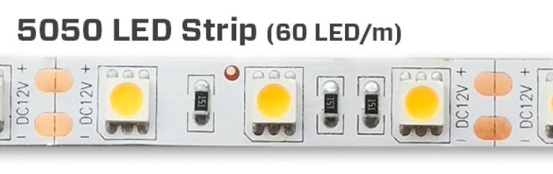 Single-Color-5050-LED-Strip-60-LED-Per-Meter-LED
